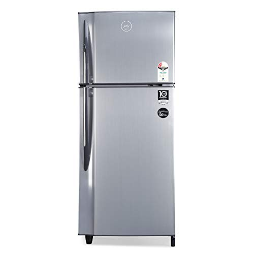 Godrej 236 L 2 Star Inverter Frost-Free Double Door Refrigerator (RF EON 236B 25 HI SI ST, Stainless Steel)