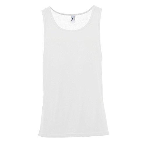 SOLS Jamaica - Débardeur - Adulte Unisexe (2XL) (Blanc)