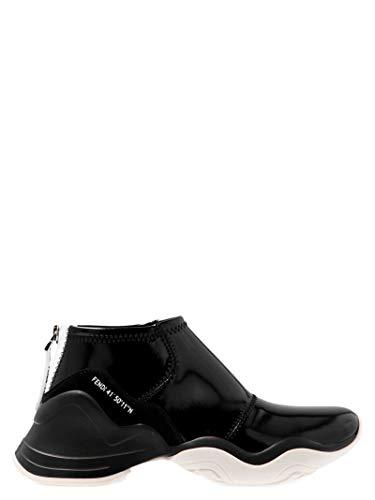 FENDI Luxury Fashion Damen 8E6989A8T4F1879 Schwarz Polyester Sneakers | Jahreszeit Outlet