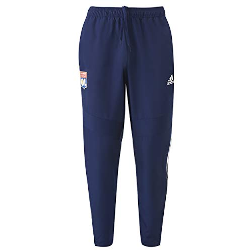 Olympique Lyonnais Pantalon de survêtement Junior Bleu Adidas OL 19/20 (9/10 Ans)