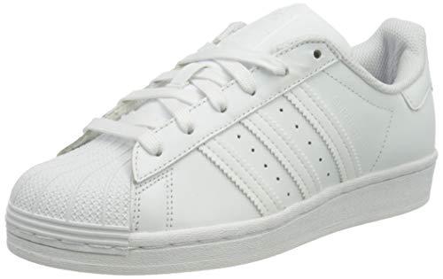 adidas Women's Superstar W Gymnastics Shoe, FTWR White/FTWR White/FTWR White, 3.5 UK