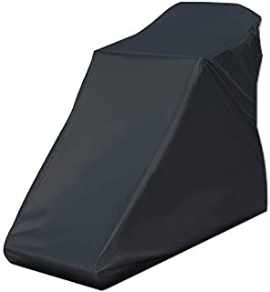 JVSISM Non-Folding Treadmill Cover Waterproof Treadmill Protective Cover Suitable for Indoor or Outdoor (Black)