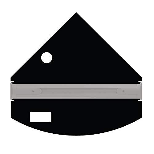 iQuatics Universal/Juwel Ersatzklappen-Set mit Skimmer/Futterlöchern, Trigon 190