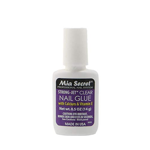 Mia Secret Nail Glue with Calcium & Vitamin E - Brush On #335