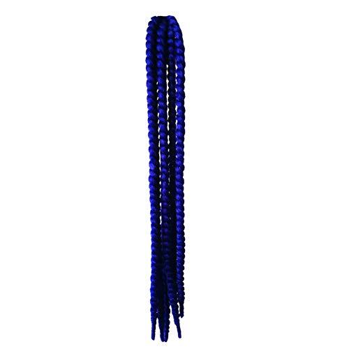 KLOP256 Casco de pelo femenino de la decoración de Hong para la motocicleta Rampa Trenzas de la Rampa de Caballo Ventosa Bicicleta Coletas Reutilizables Gradiente Twisting (# 09)