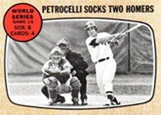 1968 Topps Regular (Baseball) card#156 World Series Game 6 of the - Undefined - Grade Very Good