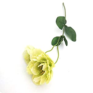 Artificial and Dried Flower 3pcs Artificial Poppy Flower Real Touch Silk Cloth Flowers Wedding Bridal Bouquet Home Party Festive Decorations