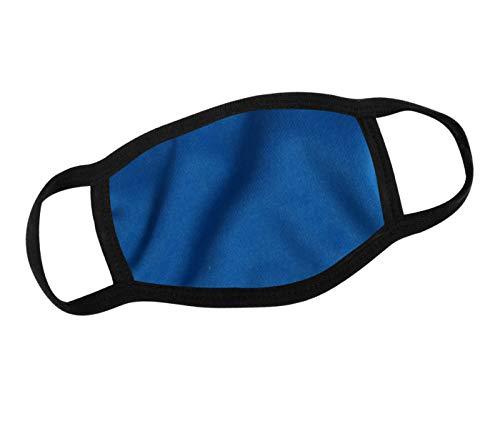 Alsino Alltagsmaske Mundtuch Halstuch Hals-Mundtuch Schutz Multituch Damen Herren Kinder (blau)