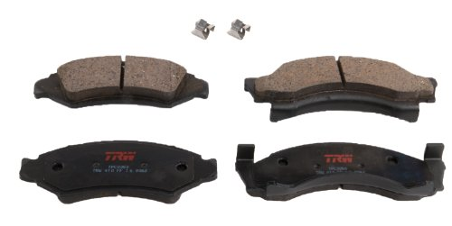 TRW TPC0050 Disc Brake Pad Set for Ford F-150: 1975 - 1985 and other...