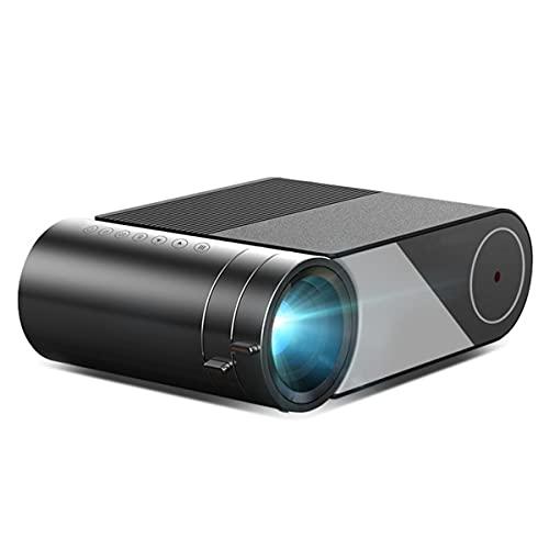 EXEDSCEND Proyector WiFi, proyector LED de Video portátil 1280x720P para 1080p 3D 4K (Pantalla de Pantalla múltiple para iPhone),FOR UK