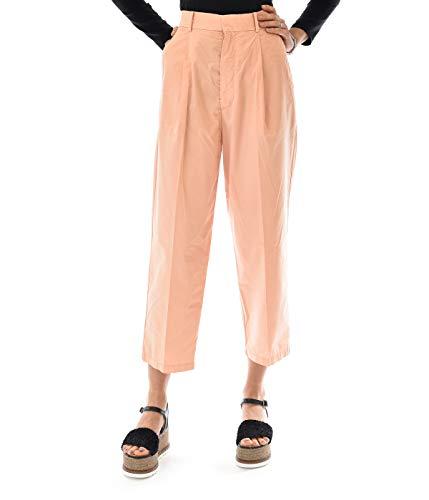 Haikure Pantalone Donna Light Pink Boyfriend con PINCE, 29