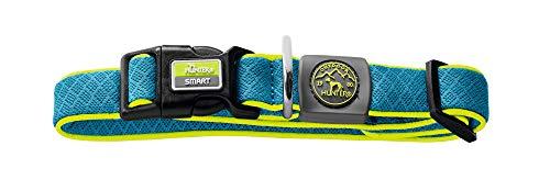 HUNTER MAUI VARIO BASIC Hundehalsung, Hundehalsband, Mesh-Material, weich, leicht, robust, M-L, blau