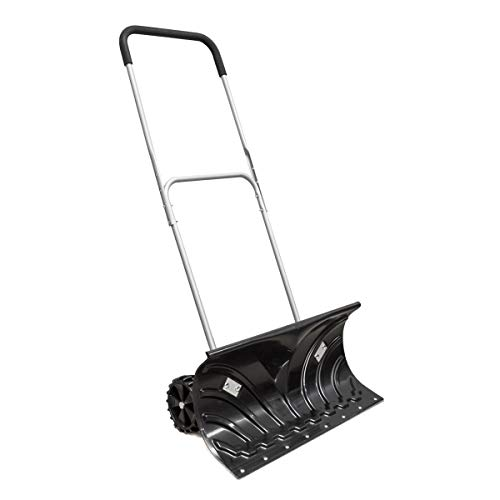 EPR Heavy Duty Rolling 26'' Reversible Blade with Two 6'' Wheels Snow Pusher