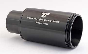 TS-Optics Okular Projektionsadapter, Kameraadapter Fotoadapter 3 in 1 für Teleskope - 1,25