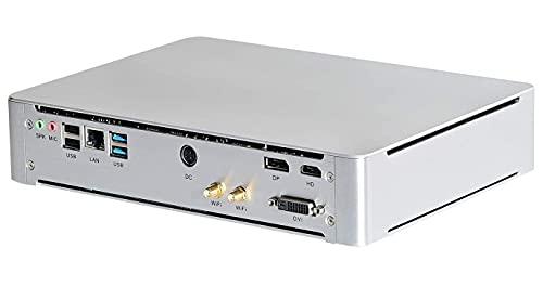 Partaker Gaming Mini PC, Desktop Computer, Win 10 Pro, Core i7 8750H 8th Gen 6 Cores, 64GB DDR4 RAM 1TB SSD,4K 9MB Cache DP/HD/DVI/HD Interface, GeForce GTX1650 4G Graphic