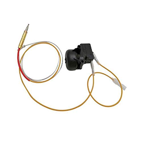DJ Home Tanque de propano Calentador Superior de Piezas de reemplazo de Seguridad Faston Tipo de termopar Juego de Montaje de Seguridad con Interruptor de Descarga FD4