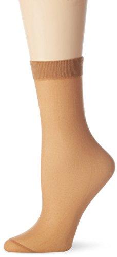 Nur Die Damen 611125 Socken, 30 DEN, Braun (amber 230), (Herstellergröße: one size)