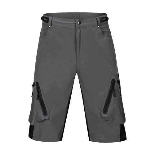 MTB Shorts Men Mountain Bike Shorts Loose Fit Baggy Cycling Shorts for Running Outdoor Sports