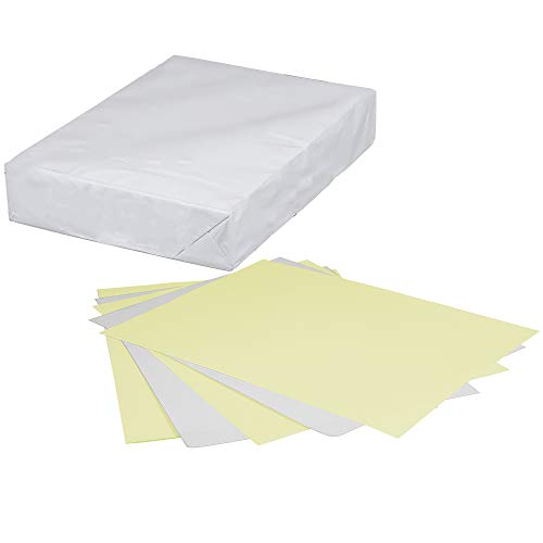 Limited Papers(TM) Paper, Carbonless Sheets, Superior, Pre Collated, Multi Part, Bond Finish. (2 Part Reverse, 8.5 x 11 Inch, Canary/White (5887), 1 Ream)