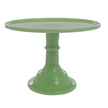 Mosser Glass 12  Footed Cake Plate - Jade