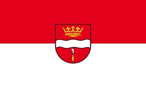 Unbekannt magFlags Tisch-Fahne/Tisch-Flagge: Winterbach 15x25cm inkl. Tisch-Ständer