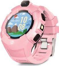 Forever Smartwatch Zegarek kinderhorloge met oproepen en GPS WiFi K, Violeta