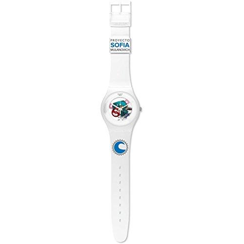 Swatch Unisex יוניסקס יוניסקס Quartz Analog Watch SUOW100D