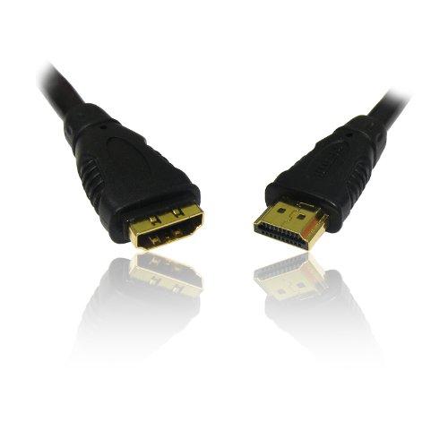 CDL Micro verlengkabel (HDMI 1.3 stekker op bus, 10 m, 33