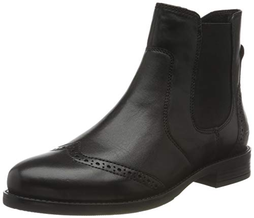 Tom Tailor Womens 9099702 Ankle Boot Bootie Boot, Black, 7.5 UK