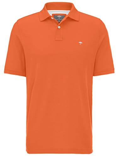 FYNCH-HATTON Basic Poloshirt aus Piqué aus Reiner Baumwolle, apricot 220, M