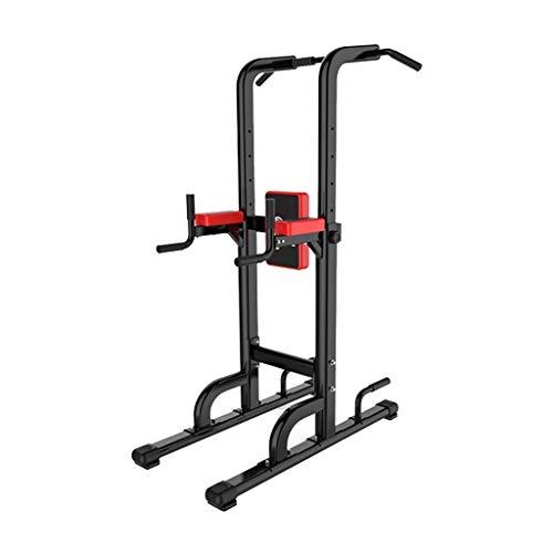 DFJU Dip Stands Horizontal Bar Parallel Bars Boxing Sandbags Multi-function Pull-ups Adjustable Home Squat Rack