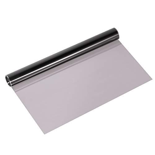 VOSAREA Auto Scheinwerfer Folie Tönungsfolie Aufkleber Selbstklebende Nebelscheinwerfer Vinyl Wrap (Hellschwarz)