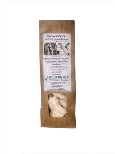 Manna Cannoli 100 grammi ( 30% manna da frassino)
