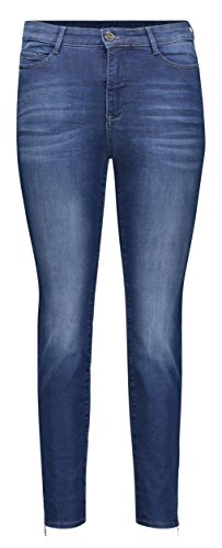 MAC Jeans Damen Sensation Slim Jeans, Blau (Blue D610), W32/L29