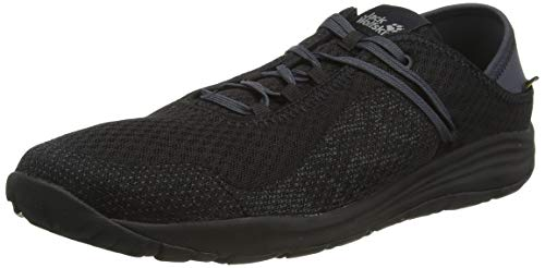 Jack Wolfskin Damen Travel Lite Low Sneaker, Schwarz (Phantom 6350), 43 EU