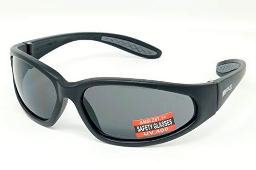 Global Vision occhiali infrangibili unbreakable uv400 avvolgenti occhiali da sole da sci dotate di connessione in microfibra bagagli pouch