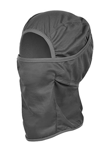 Balaclava - Ski and Sport Balaclava, Lightweight and Breathable, for Head, Face and Neck, Grey