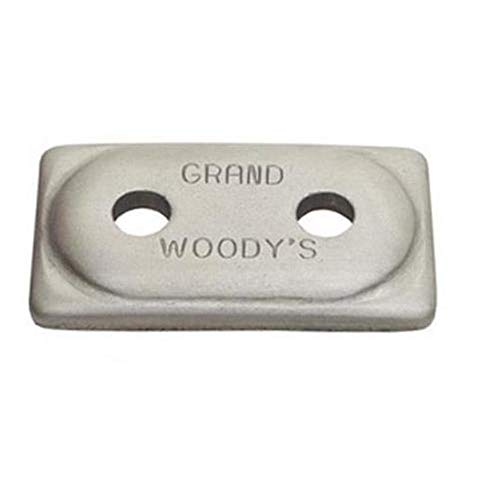 Woodys Grand Master Two-Hole Double Grand Digger Support Plates - 48 Pack ADG-3775-48