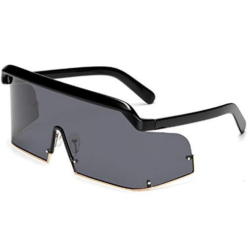 Trendy montuurloze zonnebril voor dames en heren