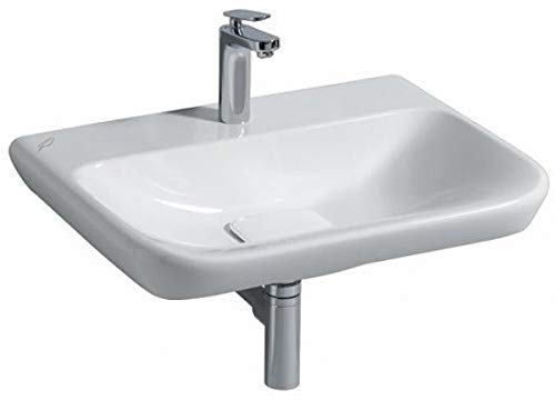 Keramag Waschtisch myDay (ohne Unterschrank) ohne Überlauf 650x135x480mm KeraTect weiß(alpin)