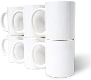 TAZA PARA SUBLIMAR CALIDAD A 11 oz blanca caja con 24 pzs