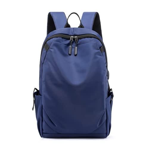 JIEZI Bolsa de computadora USB de negocios para hombres nuevos, bolsa de viaje para deportes y ocio al aire libre, mochila para estudiantes universitarios, niña