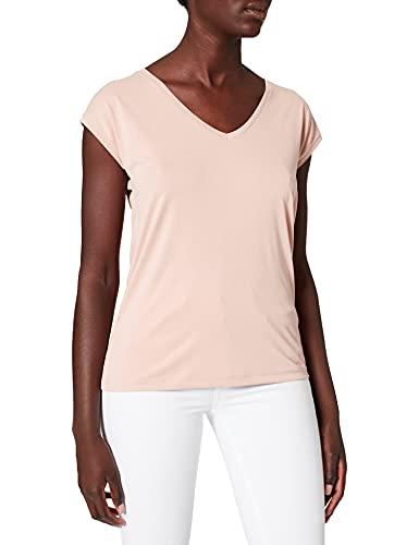 PIECES Damen PCKAMALA Tee NOOS BC T-Shirt, Misty Rose, M