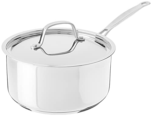 Cuisinart 7193-20 Chef's Classic Stainless 3-Quart Saucepan with Cover,Silver