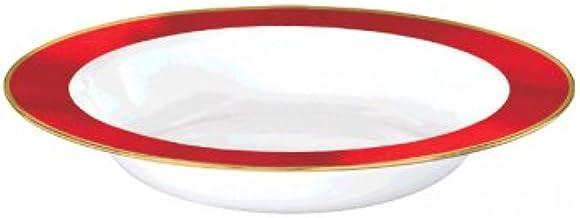 White Premium Plastic Bowls Border