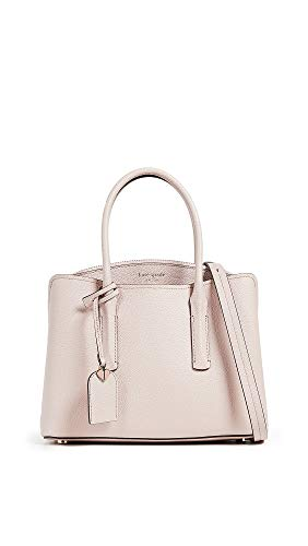 Kate Spade New York Women's Margaux Medium Satchel, Pale Vellum, Pink, One Size