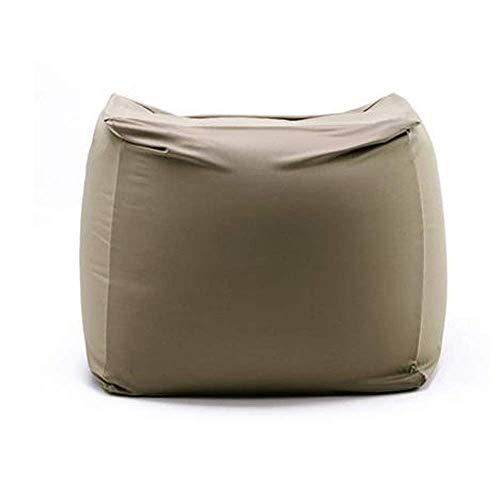 NBVCX Decorazione per mobili Bean Bag Highback Outland Gaming Lounger Recliner Giant Beanbag Zip System Fagioli Interno/Esterno (Resistente all'Acqua e alle Macchie) (Colore: Marrone)
