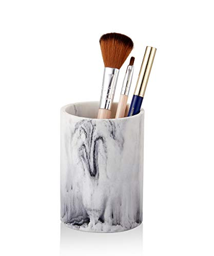 ZCCZ Bathroom Tumbler Cup, Toothbrush Holder Pen Pencil Holder Vanity Countertop Holder Cup Stand Organizer for Make-up Brushes, Toothpaste, Eye Liners, Pencil, Pen, Razor and More