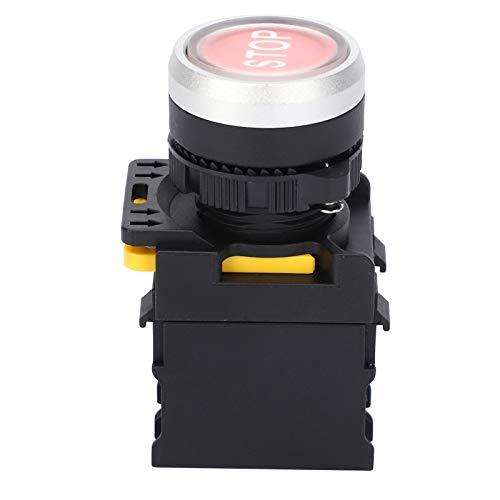 Botón de Parada a Prueba de Agua,señal de Hongo ABS, estación de Interruptor de botón de Parada de Emergencia, Interruptor de Parada AC220V 10A