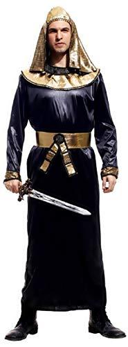 Eén maat - kostuum - vermomming - carnaval - halloween - priester - egyptisch - etnisch - egyptisch - zwarte kleur - volwassenen - man - jongen
